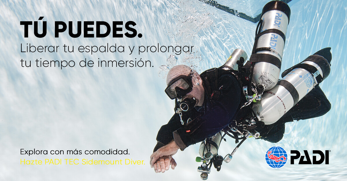 Curso-buceo-PADI-Buceo-técnico-con-Sidemount