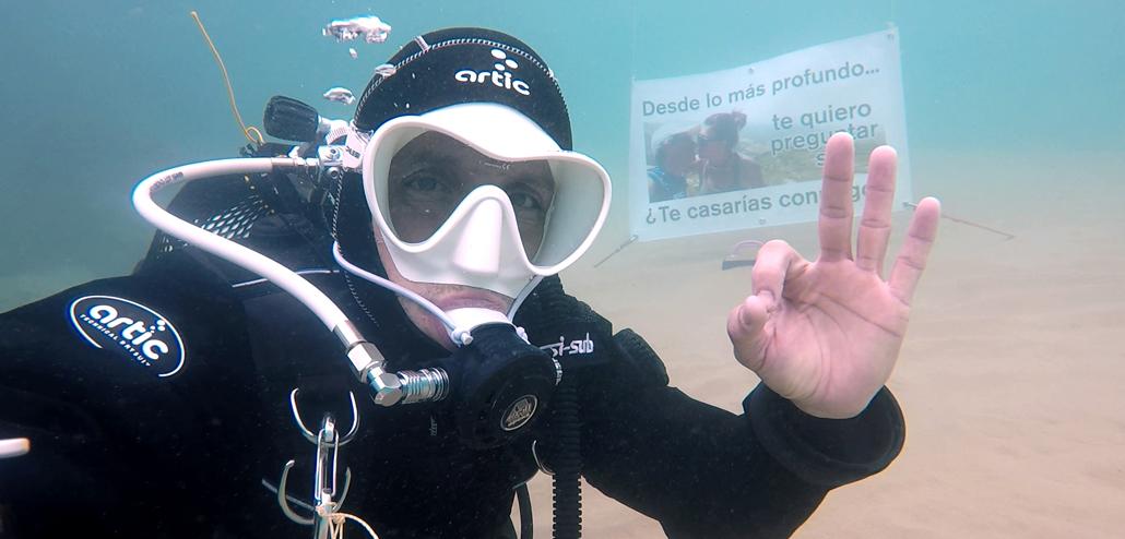 Testigo-subacuático