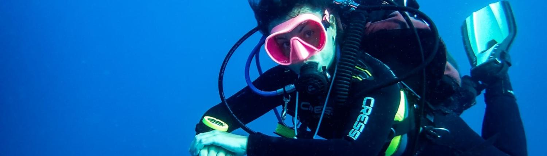 Divemaster-flotabilidad