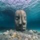 Rosto-de-escultura-submarina