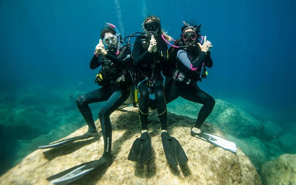 Submarinismo-femenino